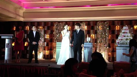 Kev & Lydia Wedding: Thank You speech   YouTube