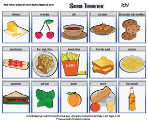 ch food words | Cooking Up Good Speech....