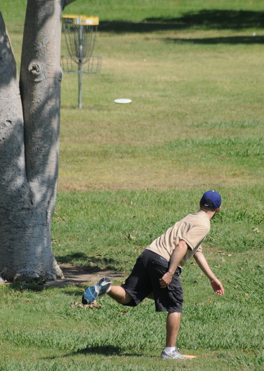 Disc Golf at the Golden State Classic