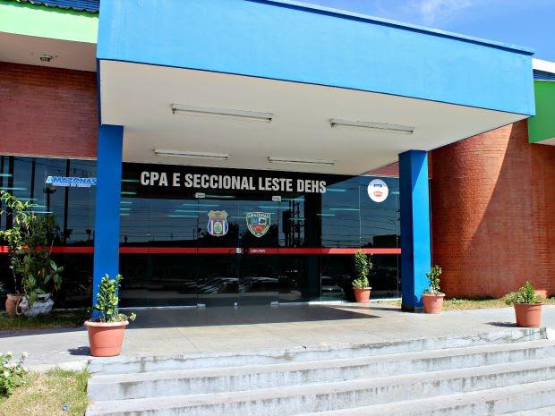 Pais do bebê serão transferidos da DEHS para unidades prisionais (Foto: Adneison Severiano/G1 AM)