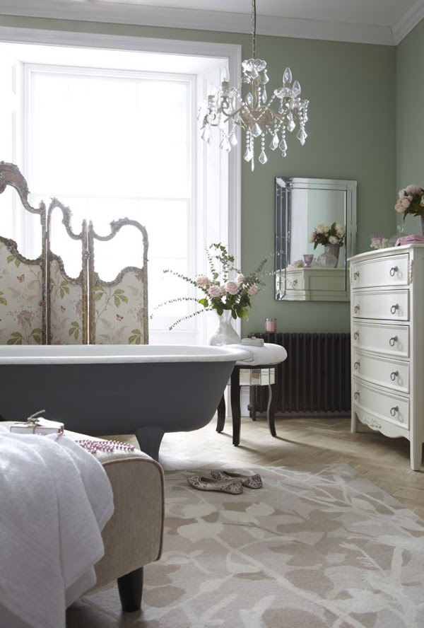 How To Design Bathroom With Vintage Flair | InteriorHolic.com