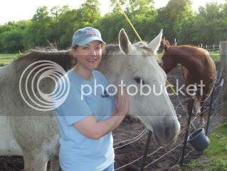 Visiting the horsey neighbors