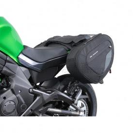 Sw Motech Blaze Saddlebags For Kawasaki Er 6n Ninja 650 2012 Current