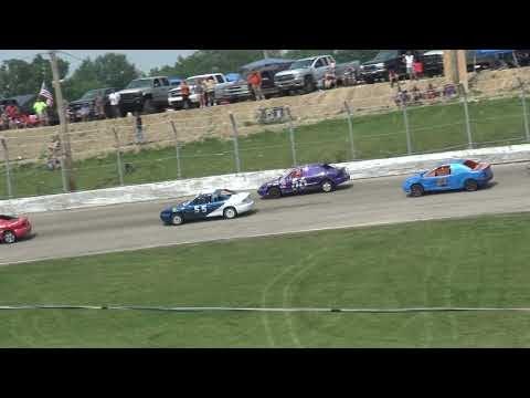 Shady Bowl Speedway | 7/4/21 | Shady Bowl Speedway | 7/4/21 | Farmer's Vs Gettin' There's | Heat 2