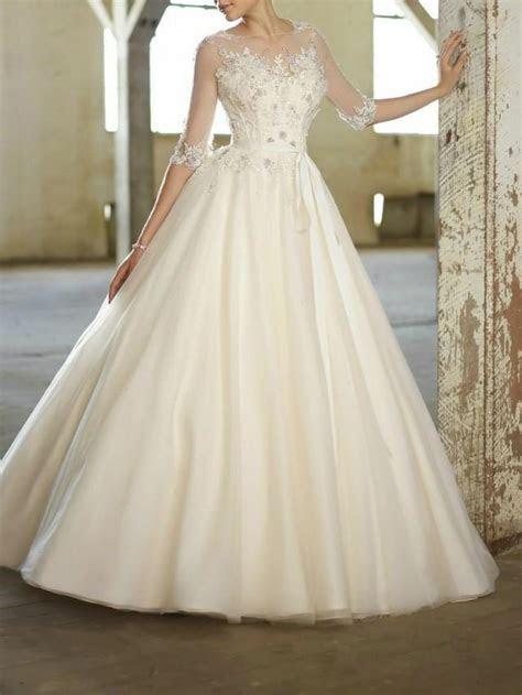 New White/ivory Wedding Dress Custom Size 2 4 6 8 10 12 14
