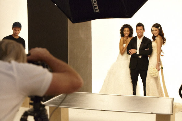 david tutera bridal guide cover shoot Photo Credit Rafael Lizarraga