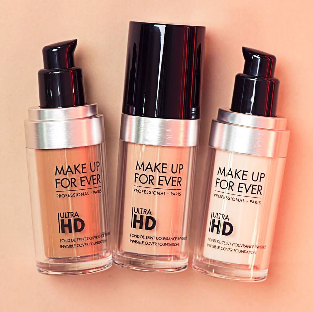 Makeup forever hd foundation mГјller