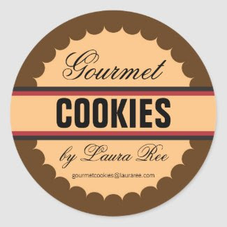 Gourmet Cookie Sticker