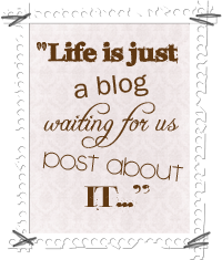 life is just a blog button copy