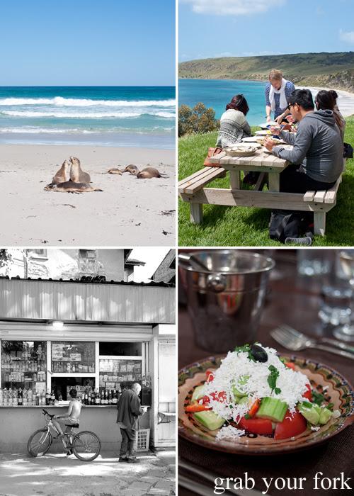 Sea lions on Kangaroo Island; a scenic picnic; shopska salad and daily life in Bulgaria