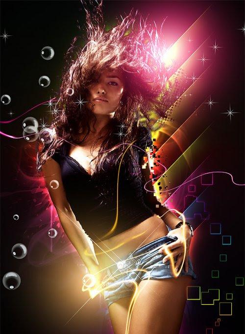 Dance - Photoshop Digital Art Tutorial