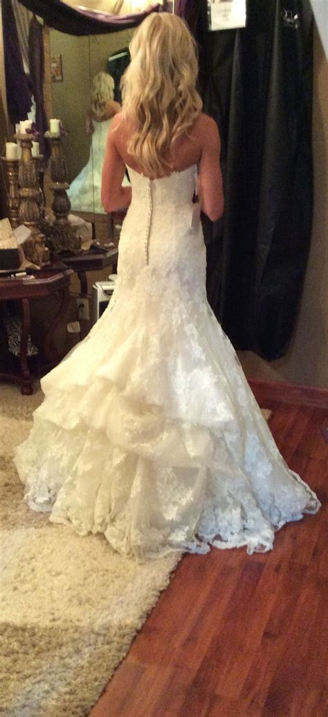 Waterfall bustle   Wedding Gown Bustle Styles   Wedding