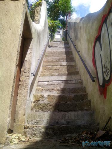 Escadas do Quinchorro em Coimbra [en] Quinchorro stairs in Coimbra Portugal