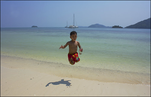 Jump at Koh Rang Yai