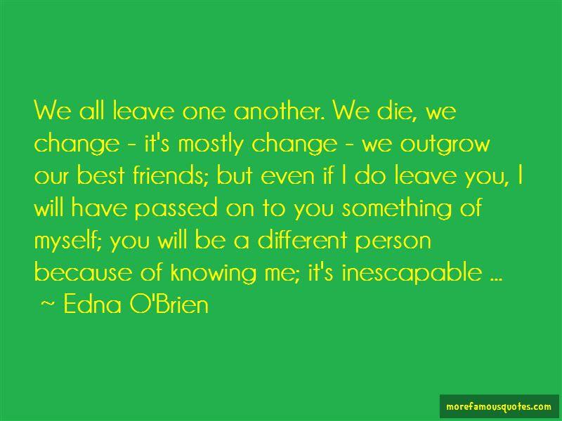 Friends Change Quotes