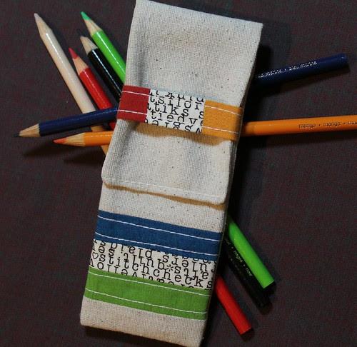 Zakka Style Pencil Case