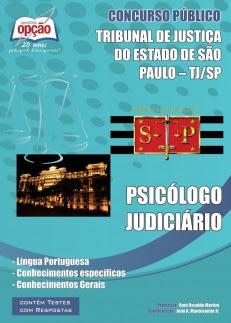 Apostila PSICÓLOGO JUDICIÁRIO Tribunal de Justiça do Estado / SP