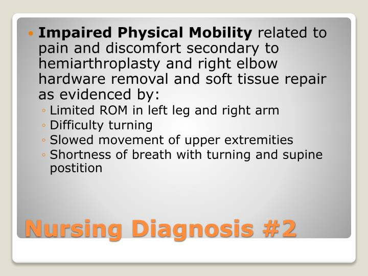 PPT - Nursing Diagnosis #1 PowerPoint Presentation - ID:964873