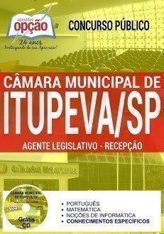 Apostila Câmara Itupeva AGENTE DE LEGISLAÇÃO - RECEPÇÃO