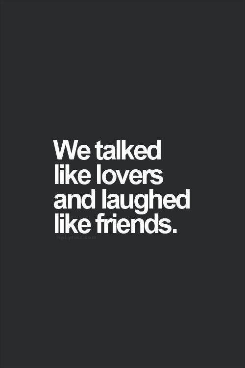 Friends And Lovers Quotes Sayings Friends And Lovers Picture Quotes