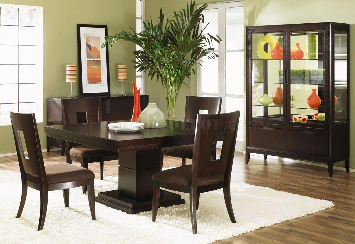 Dining Room Ideas With Dark Wood Furniture Aldystalkerz Blogspot Com