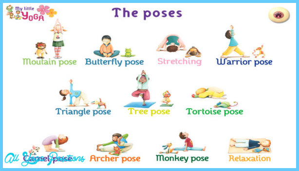 Yoga Poses For Kids Easy