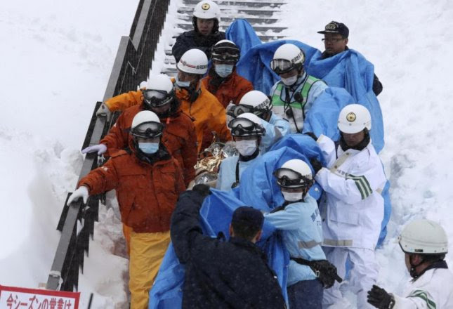 Image result for Eight Japanese Students Dead in Avalanche