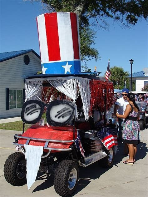 photos of 4th of july decorated golf carts   Yahoo Search