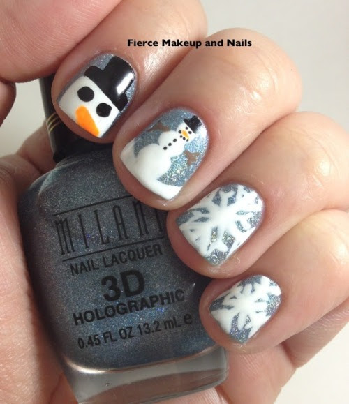 These are the cutest winter nails ever!