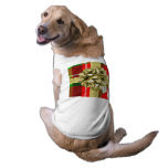 Personalize: Red Tartan Christmas Present Pet Tee