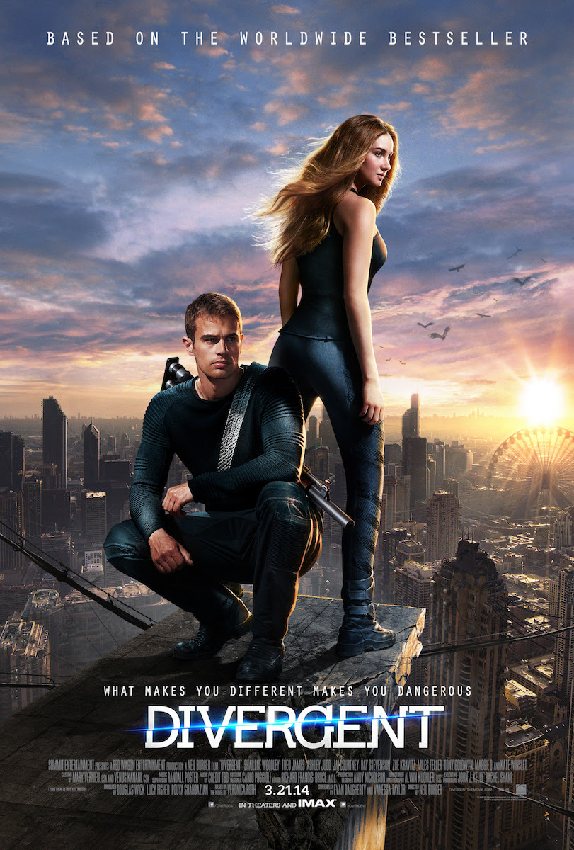 divergentmovie:  The new official Divergent poster is HERE! REBLOG if you are Divergent.