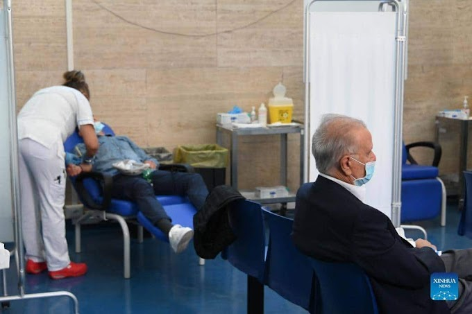 Italy starts administering third dose of COVID-19 vaccine