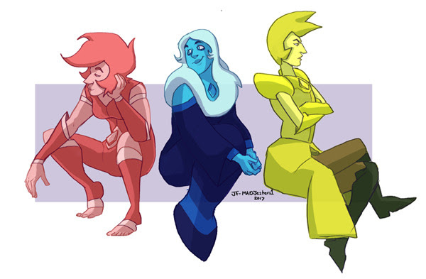 Blue Diamond is my favorite Diamond. :]
