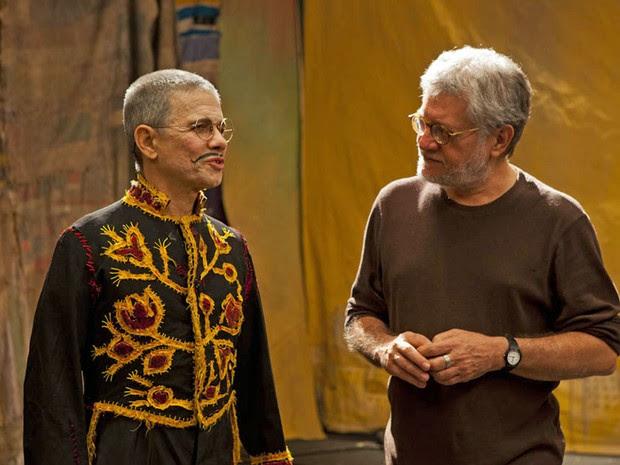 Parceiro de Nóbrega, o diretor Walter Carvalho dirigiu o filme Brincante, que tem pré-estreia na Fundaj (Foto: Festival de Circo do Brasil/Divulgação)