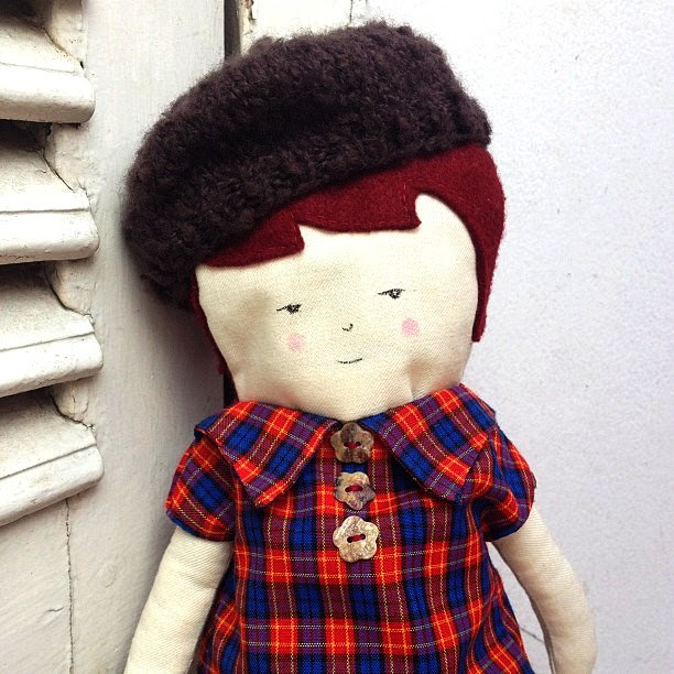 New beret for the doll