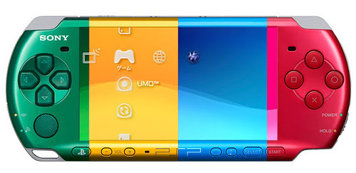 PSP 3000 new Colors by you.