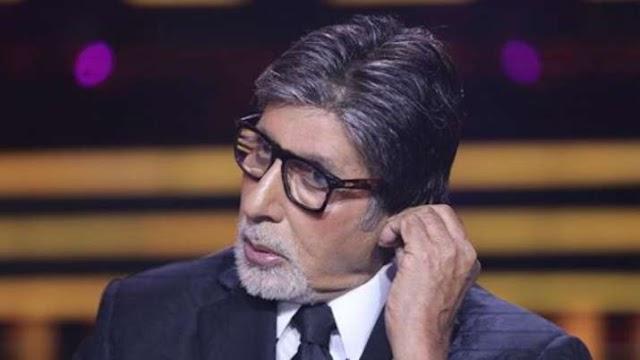 अमिताभ बच्चन ने शेयर की 'कौन बनेगा करोड़पति' के सेट से नई तस्वीर, लिखी कनखजूरे पर मजेदार कविता