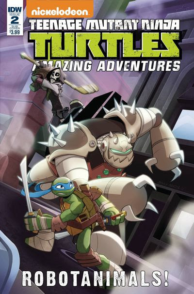 Teenage Mutant Ninja Turtles Amazing Adventures Robotanimals #2 (of 3) (Cover B - Martin)