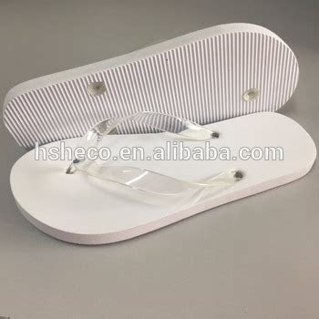 Cheap White Wedding Flip Flops Beach Plastic Wedding