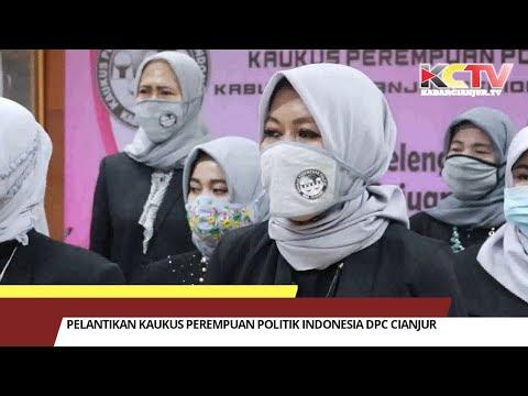 Pelantikan Kaukus Perempuan Politik Indonesia DPC Cianjur