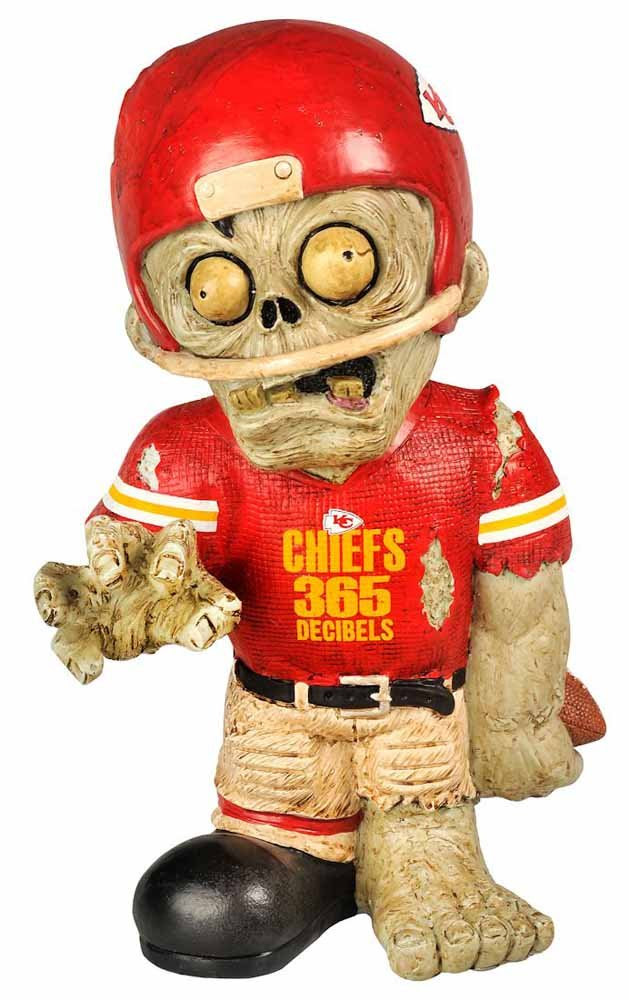 Amazon.com : Kansas City Chiefs Zombie Figurine - Thematic ...