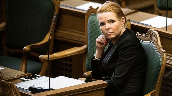 Denmark's Minister of Immigration and Integration Inger Stojberg
