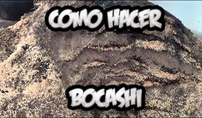 CÓMO HACER BOCASHI ABONO ORGÁNICO