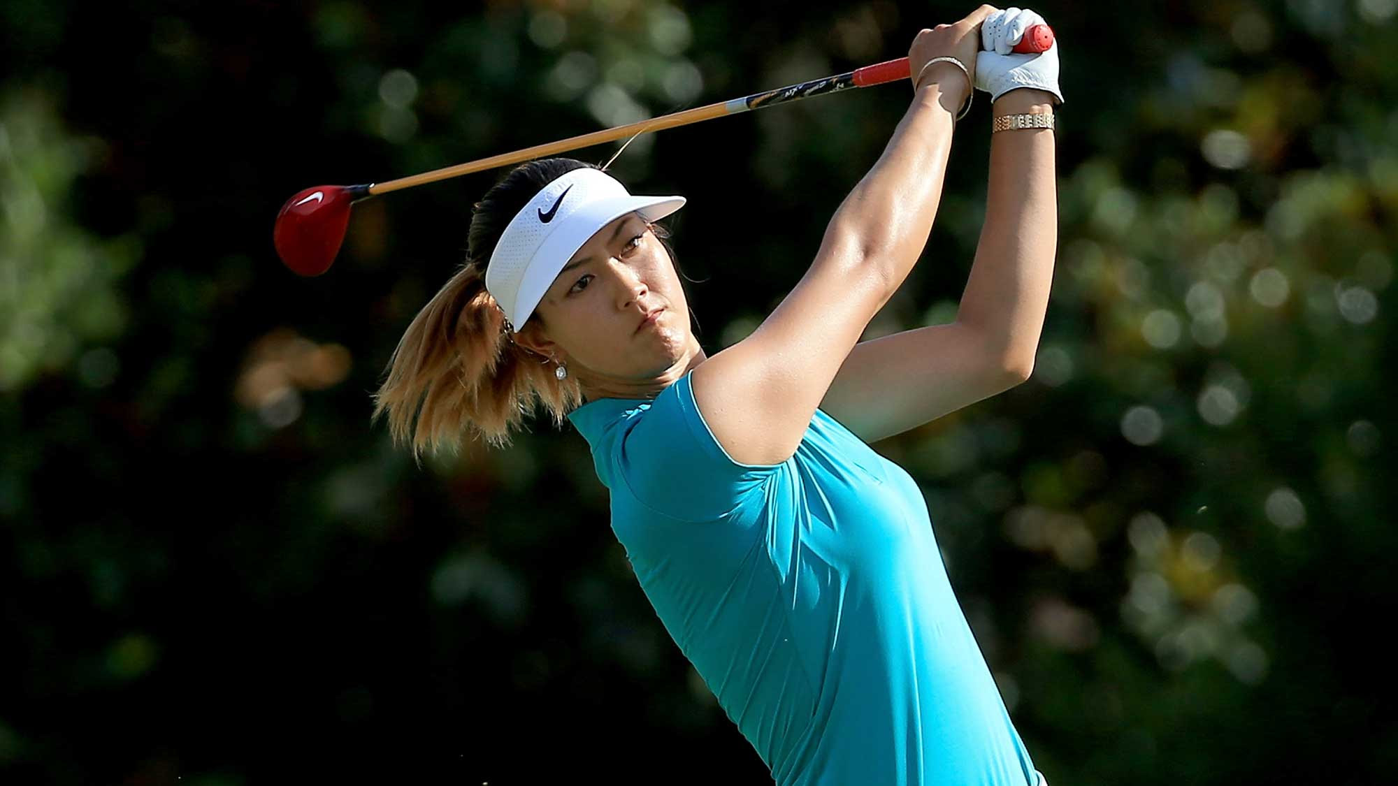 Wie at 2014 US Open