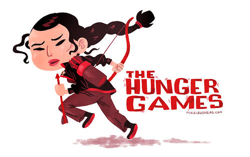 Hunger Games Fan Art by Mike Laughead