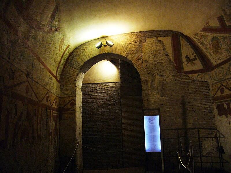 Fil: Celio - Casa Romana al Celio 1120294.JPG