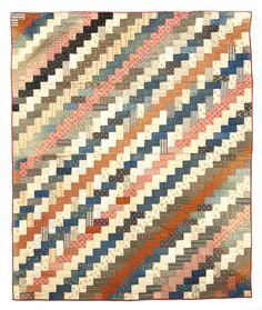 Calico quilt from Michigan, Pook & Pook.  Love the colors and simplicity
