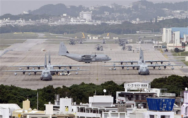 Okinawa, căn cứ quân sự, liên minh Mỹ - Nhật, Senkaku, Điếu Ngư