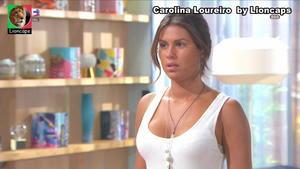 Carolina Loureiro sensual na novela Nazare