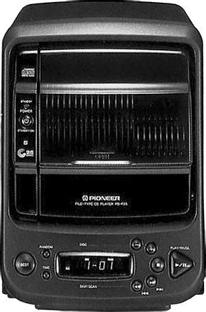 Pioneer PD-F25 - Manual - File Type Compact Disc Player